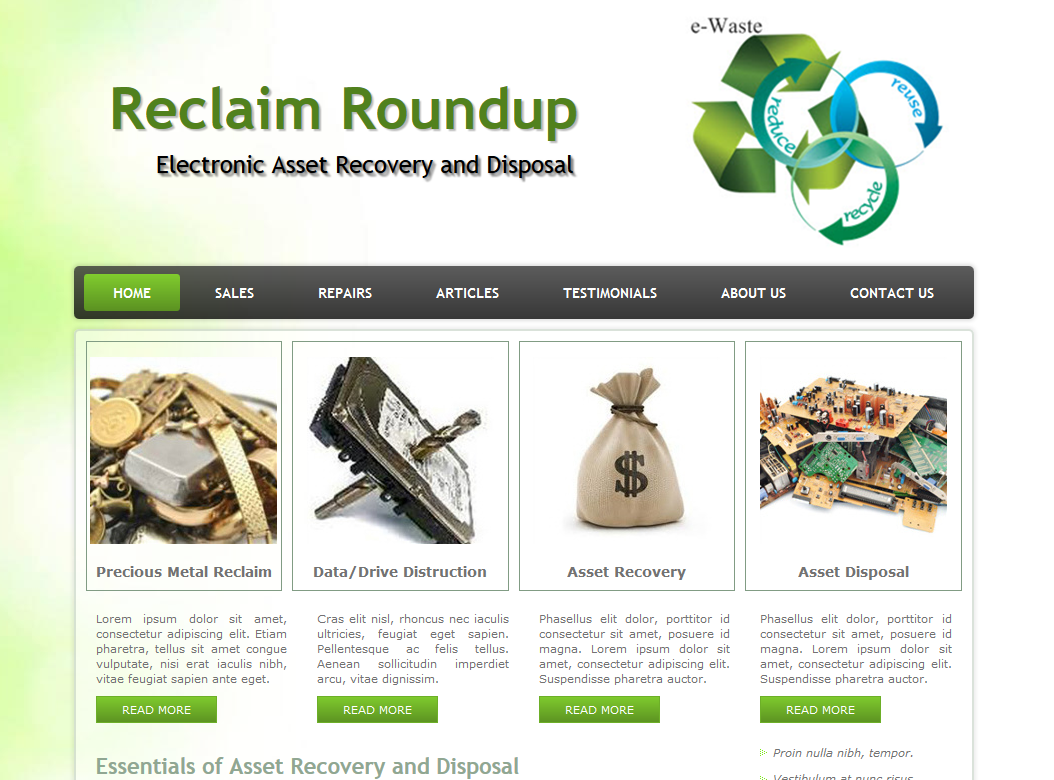 Go to the Reclaim Roundup Web site!