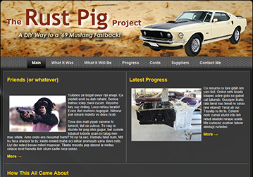 Go to the Rust Pig Web page!