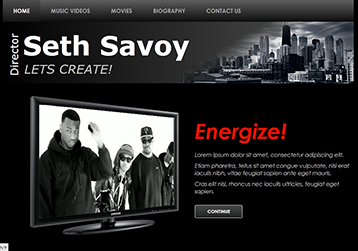 Go to the Seth Savoy Web page!